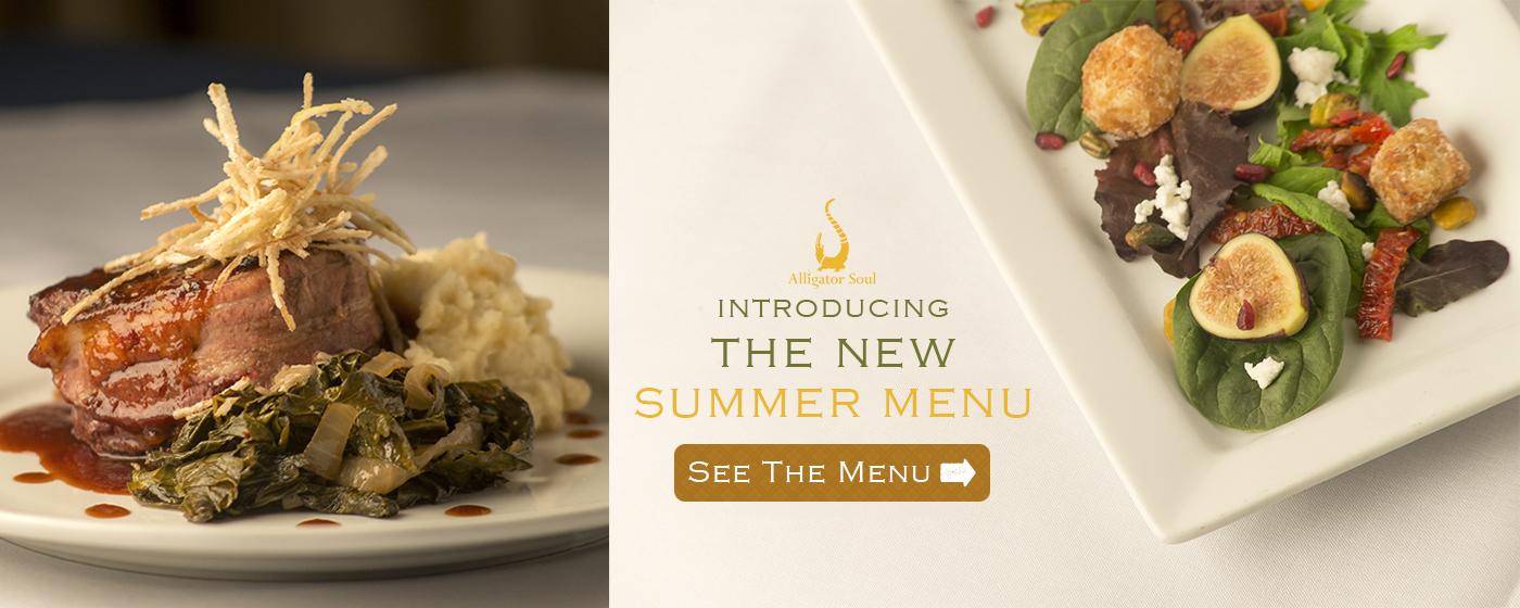 Alligator Soul | Savannah Restaurants | New Summer Menu | Savannah GA Restaurant