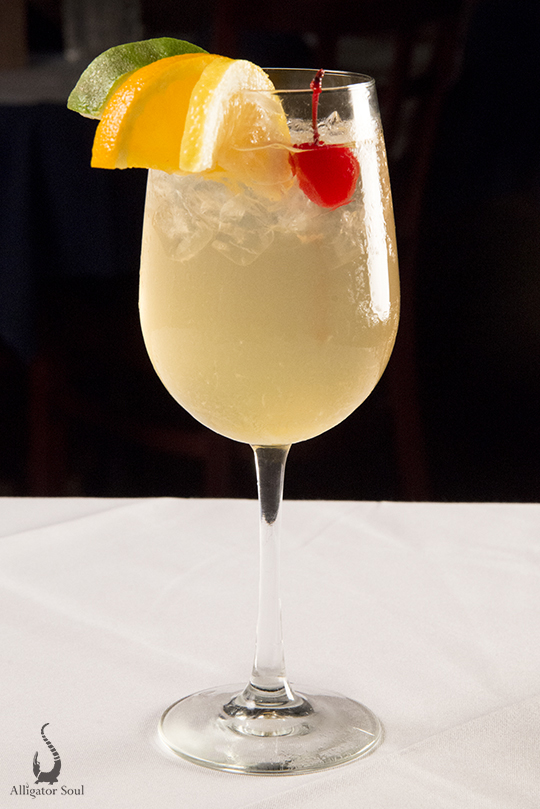 Alligator Soul Cocktail Menu Savannah GA Bars