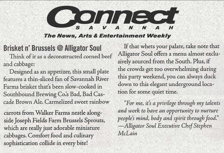 Connect Savannah | Alligator Soul